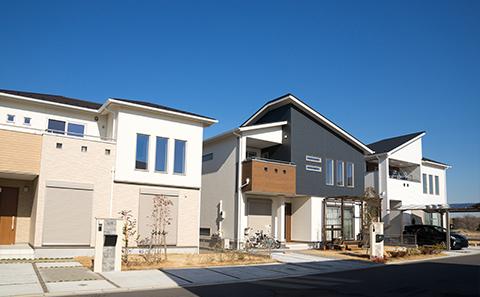 一戸建て新築住宅の画像